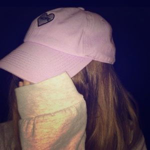 "Rue21 purple ""NOPE"" ball cap"